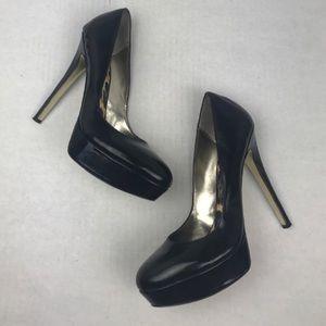 Bebe Black Stilettos 8